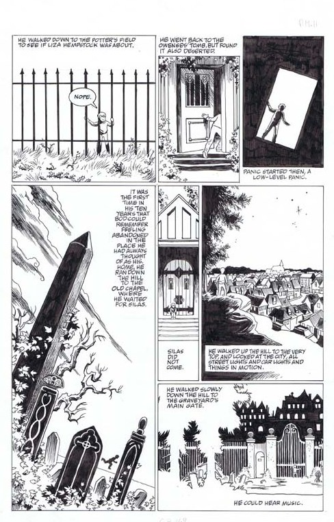 Cadence Comic Art: Original Comic Art